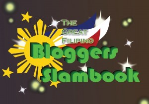 Diary ni Gracia Bloggers Slambook