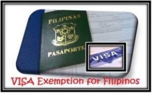 Visa exemption for pinoys