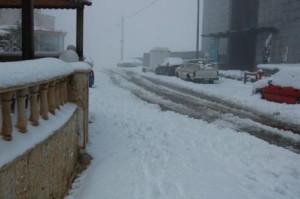 Snow in Saudi Arabia? Taken in Tabouk, KSA which is near the border with Jordan.