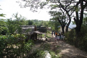 The boondocks of Porac, Pampanga. Ancestral land of our native Aetas.