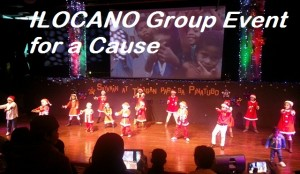 Charity and Talents can go well together. Thanks to Ilocano Group.