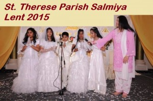 St. Therese of the Child Jesus Parish - Salmiya is located in the heart of the Indian Community. Our Indian friends would like to invite us to their Lent activities and services.