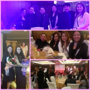 Being an OFW has its ups and downs that sometimes attending events makes you think twice. But with the esteemed personalities from the Filipino Community like them, it was truly a stellar night for me.