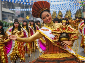Sinulog Festival of Zamboanga del Norte pays homage and tribute to the Infant Jesus. (Source: jaylabra)