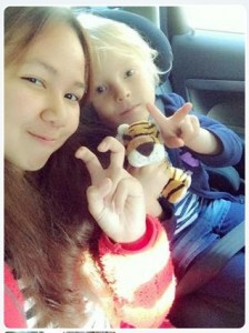 Asian Au Pair residing for 2 years in Europe with her host family. (source: aufinidotcomminny)