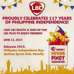 LBC Kuwait Proudly Moving Pinoy.