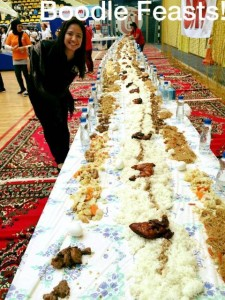 Boodle Feasts, another way for FILCOM to come together.