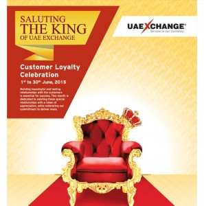 UAE Exchange Kuwait celebrates Customer Loyalty Month from June 1 to 30, 2015.