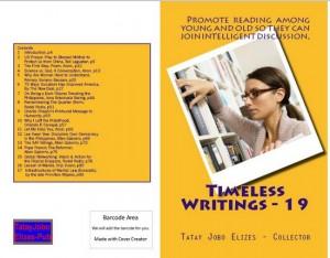 Timeless Writings - 19