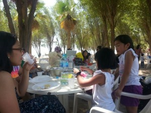 During the recent Eid, many Filipinos in Kuwait gathered at Messilah Beach for a fiesta-like atmosphere.