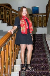 Ms. Lyza Belviz Pajo, Filipino Blogger in Kuwait.