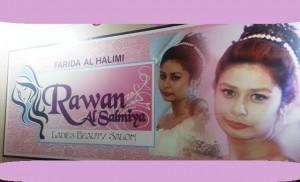 Rawan Al Salmiya Ladies Beauty Salon.