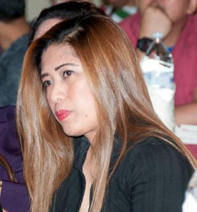 Miss Jen, another very nice lady from the Philippine Embassy in Kuwait.