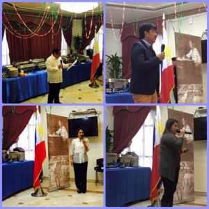 Their speeches conveyed important points that inspire the audience.