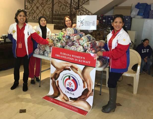 Ilokana Women's Organizaiton in Kuwait (IWOK) and Filipino Association for Music and Arts (FAMA).