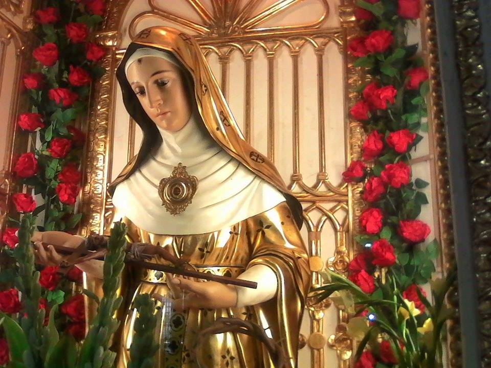Saint Rita of Cascia, patroness of the hopeless and impossible cases.
