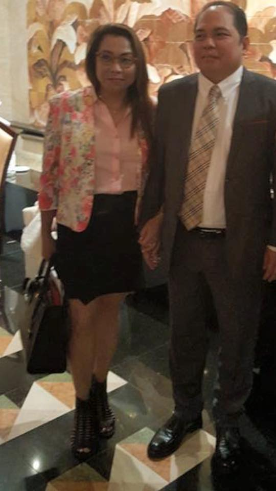 Spouses Atty. Cesar Chavez Jr., and Madam Gwen Chavez. (photo credit to owner)