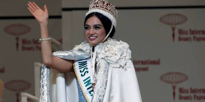 Miss International 2016, Kylie Verzosa. (sinseatdaily)