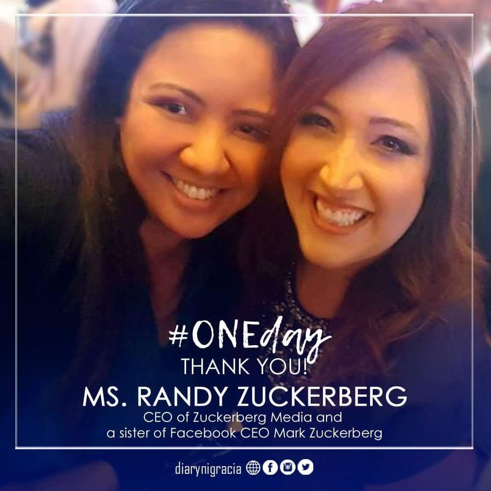 Inspiring Women: Ms. Randi Zuckerberg