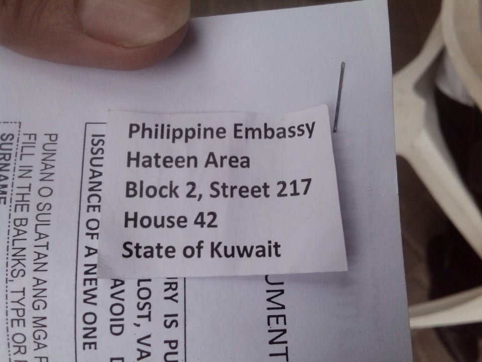 New shelter for abused OFWs in Kuwait—a real blessing
