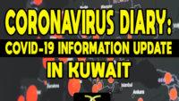 CORONAVIRUS DIARY: COVID-19 Information Update in Kuwait