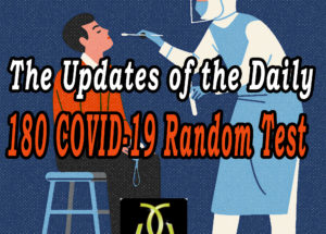 The Updates of the Daily 180 COVID-19 Random Test