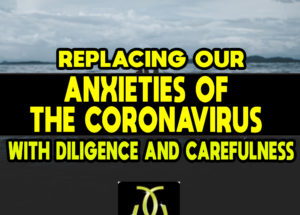 Replacing our Anxieties of the Coronavirus with Diligence and Carefulness