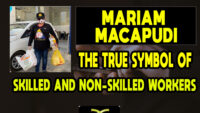 Mariam Macapudi, the True Symbol of Skilled and Non-Skilled Workers