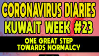 CORONAVIRUS DIARIES: Week #23 – One Great Step Towards Normalcy