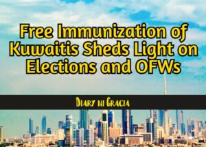 Free Immunization of Kuwaitis Sheds Light on Elections and OFWs