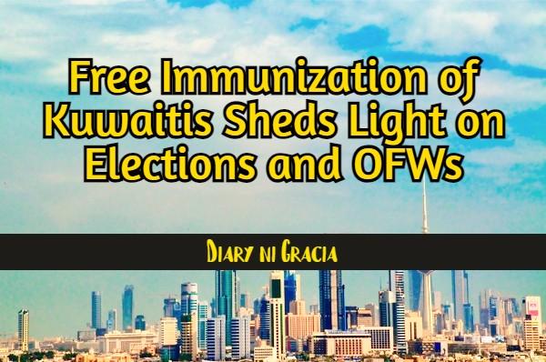 Free Immunization of Kuwaitis Sheds Light on Elections and OFWs