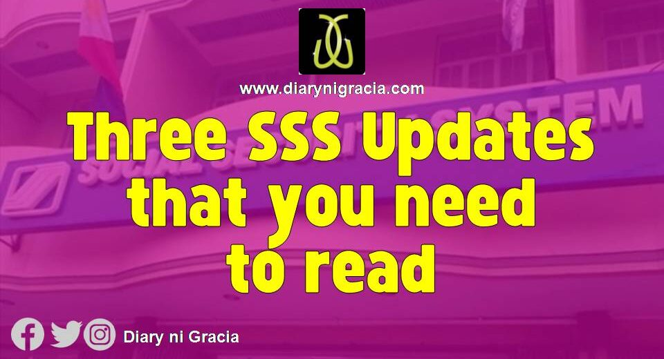 Three SSS Updates that you need to read