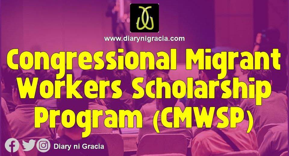 Congressional Migrant Workers Scholarship Program (CMWSP)