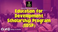Education for Development Scholarship Program (EDSP)