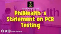 PhilHealth's Statement on the PCR Testing