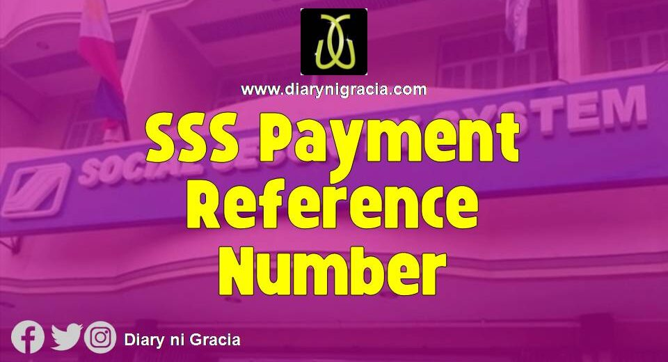 SSS Payment Reference Number