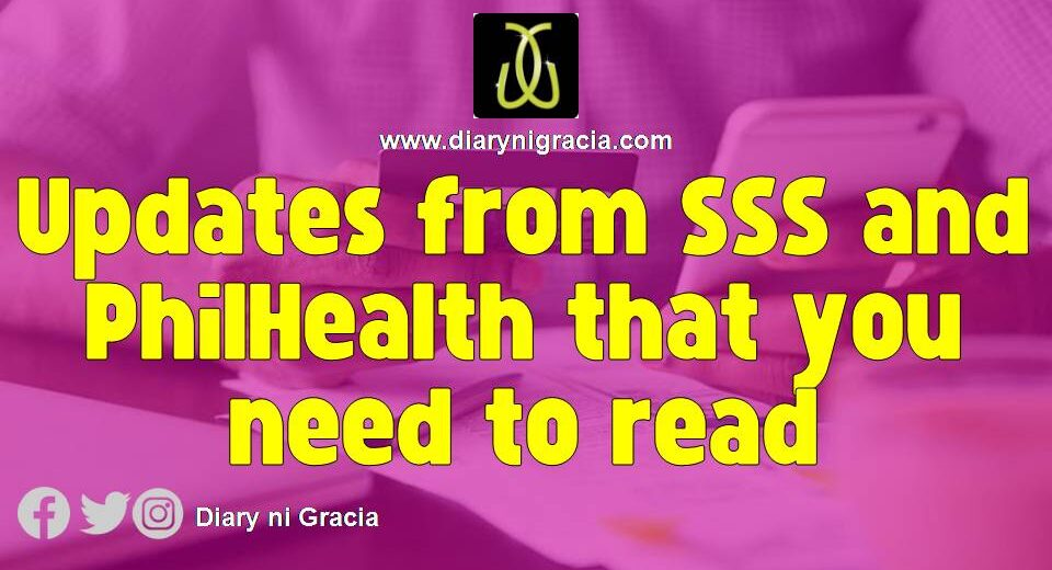 Updates from SSS and PhilHealth that you need to read