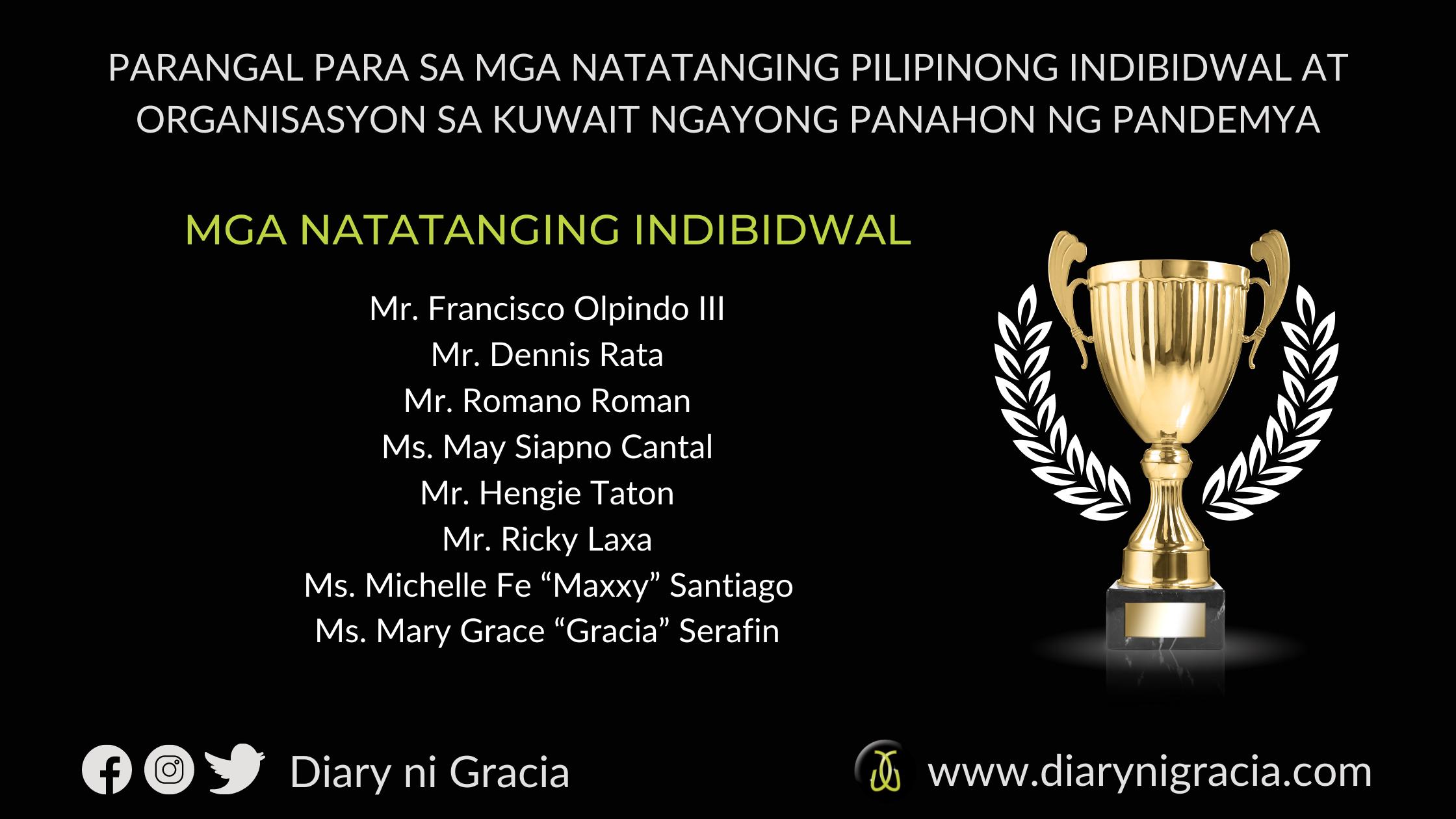Milestone Award Philippine Embassy in Kuwait