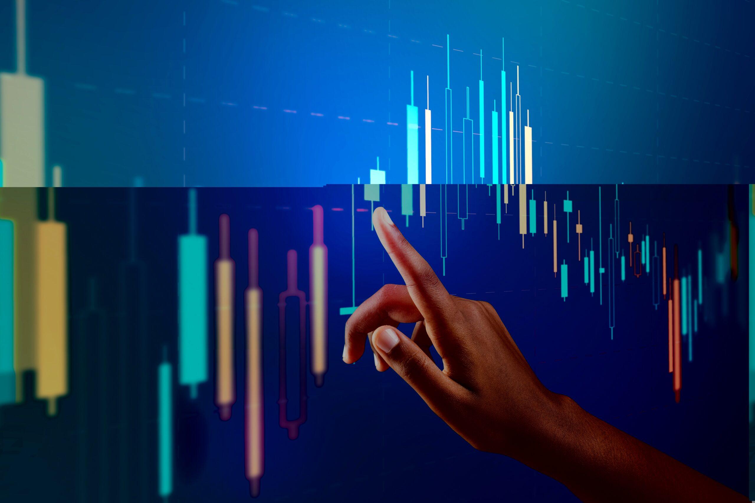 Stock Market Chart Screen